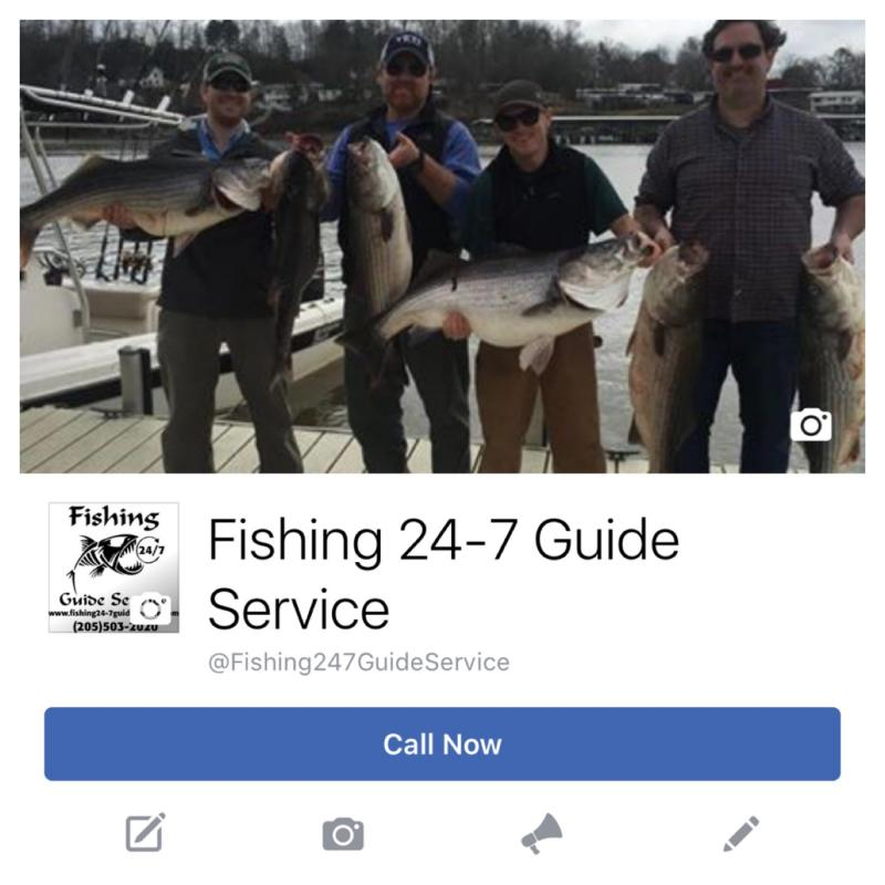 Fishing 24-7 Guide Service - Facebook Link